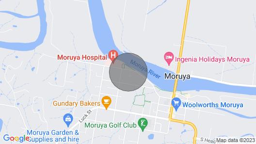 Moruya Holiday House Map