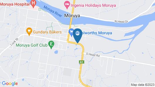 Luhana Motel Moruya Map
