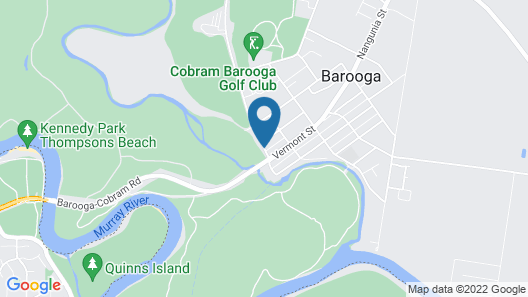 Barooga River Gums Motor Inn Map
