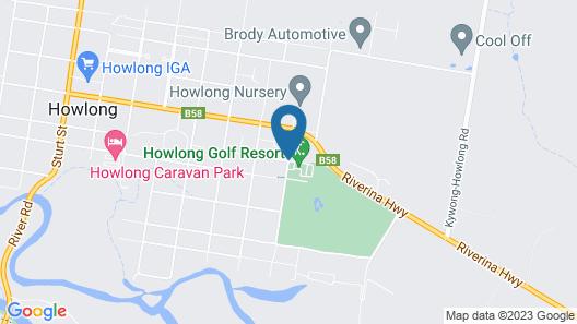 Howlong Golf Resort Map