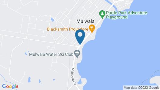 Mulwala Paradise Palms Motel Map
