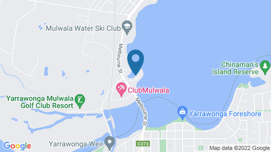 Cypress Waterfront Apartments Map