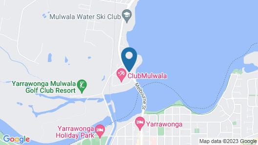 Capricorn Motor Inn Map