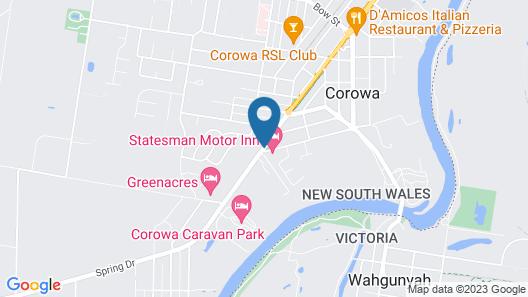 Motel Wingrove Map