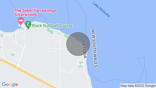 Yarrawonga's NEW Big, Beautiful, Waterfront House Sleeping up to 20 Guests Map