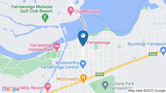 Yarrawonga Hotel Map