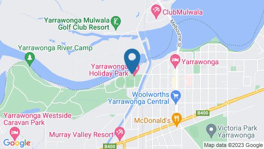 Yarrawonga Holiday Park Map