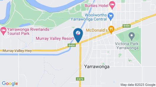 Murray Valley Resort Map