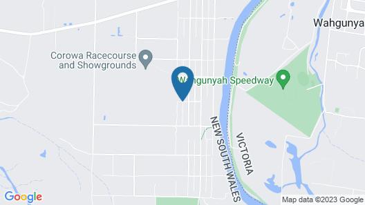 Golfers Retreat Motel Map