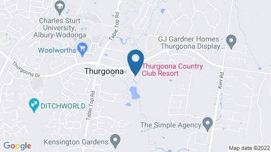 Thurgoona Country Club Resort Map