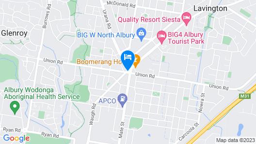 Northside Hotel Map
