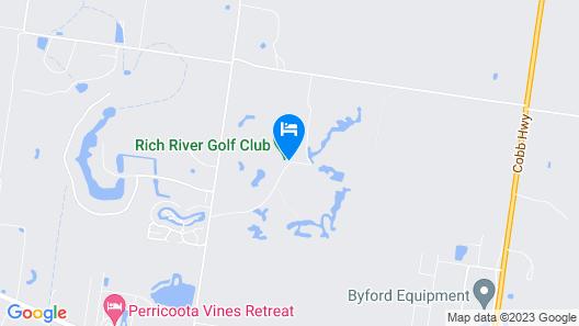 Rich River Golf Club Resort Map