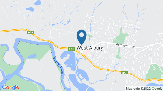 Albury Yalandra Apartment 5 Map