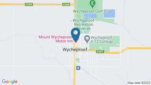 Mount Wycheproof Motor Inn Map