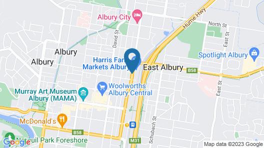 Albury Manor House Map