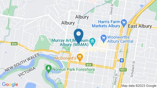 Atura Albury Map