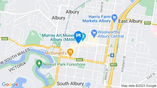 Beer Deluxe Albury Map