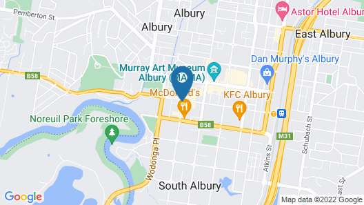 Quest Albury On Townsend Map