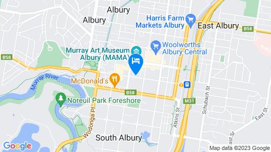 Mantra Albury Hotel Map