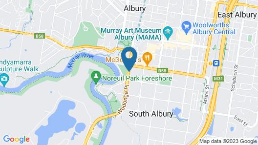 Hume Inn Motel Map