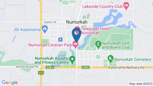 El Toro Motel Numurkah Map
