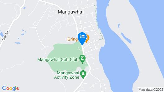 Mangawhai Chalets Map