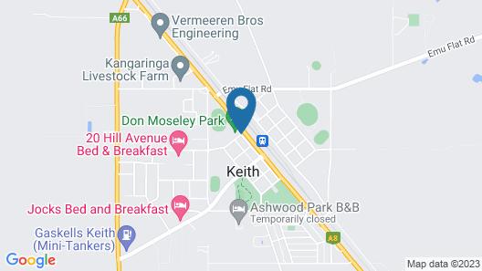 Keith Motor Inn Map