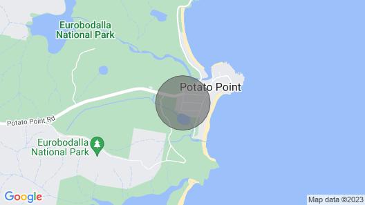 Holiday House Potato Point Map