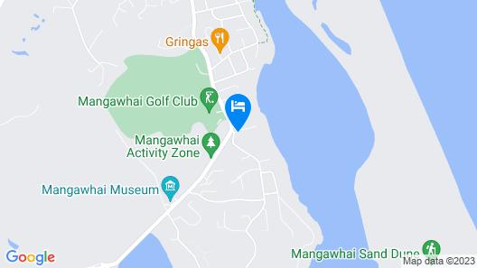 Mangawhai Lodge Map