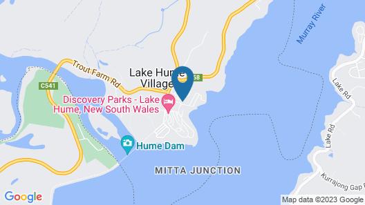 Lake Hume Resort Map
