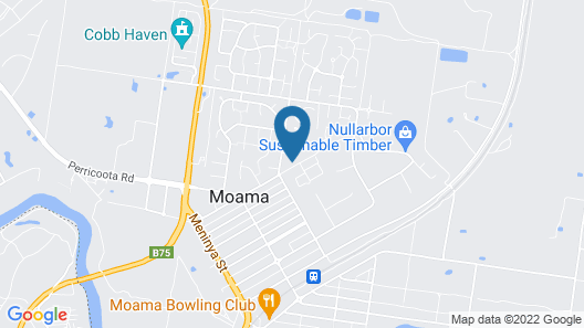 Echuca Moama Holiday Accommodation 2 Map