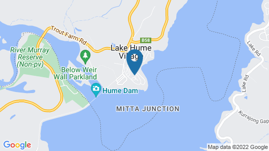 Lake Hume Tourist Park Map