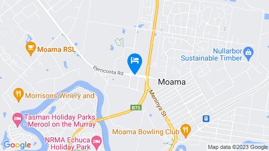Sportslander Motor Inn Map