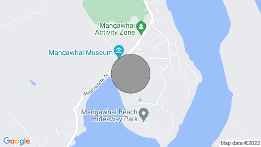 Sun Seeker's Lodge - Mangawhai Heads Holiday Home Map