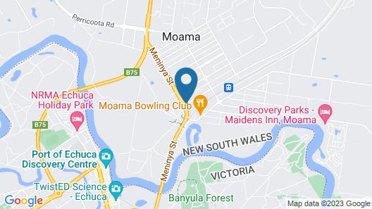 Moama Motel Map