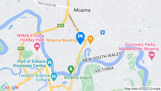 Murray River Holiday Park Map