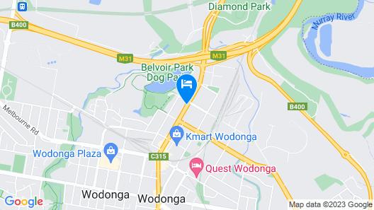 Warrina Motor Inn Map