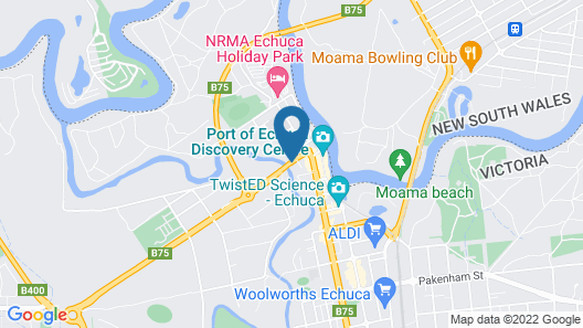 CocknBull Boutique Hotel Map