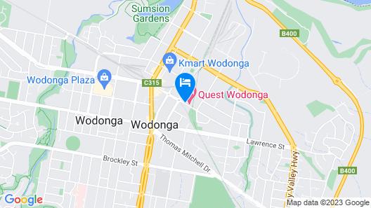 Quest Wodonga Map