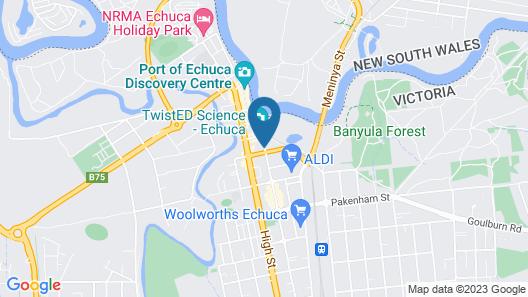 Echuca Nirebo Motel Map