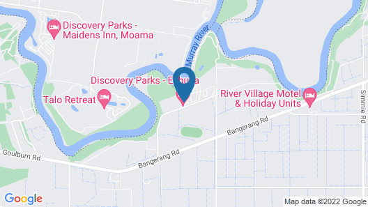 Discovery Parks - Echuca Map