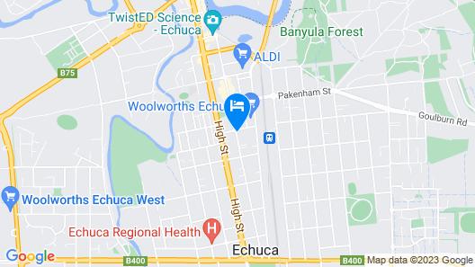 Caledonian Hotel Motel Map