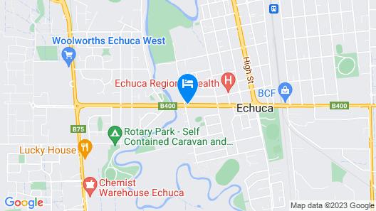 Echuca Motel Map