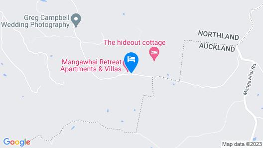 Mangawhai Retreat Apartments Map