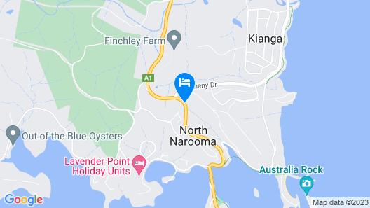 Ecotel Narooma Map