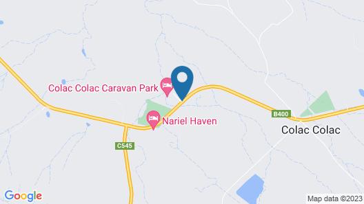 Colac Colac Caravan Park Map
