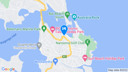 Southbound Escape at the Wharf Map