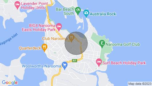 Champagne Views. - Narooma, NSW Map