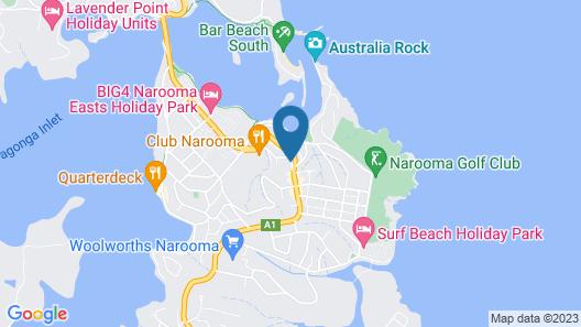 Whale Motor Inn and Restaurant Map