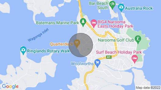 21 Riverside Drive - Narooma, NSW Map